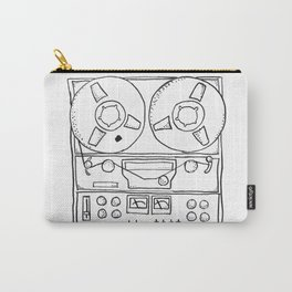 tape recorder Carry-All Pouch