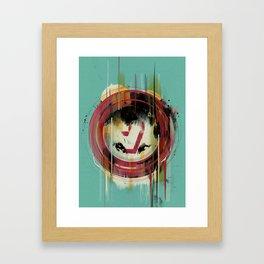 -7- Framed Art Print