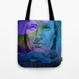 Le CLASH - turquoise Tote Bag