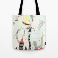 Desire creates the power. Tote Bag