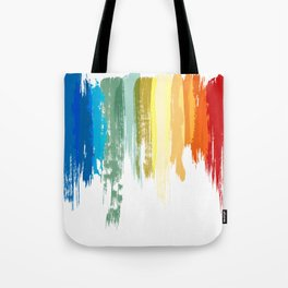 Colour Brushes Tote Bag