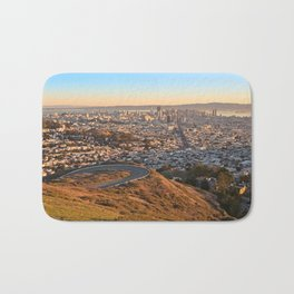 San Francisco Sunrise Bath Mat