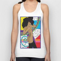 hat Tank Tops featuring Hat by TheArtGoon