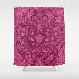 filgurie pinks Shower Curtain