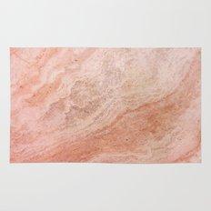 Polished Rose Gold Marble Rug