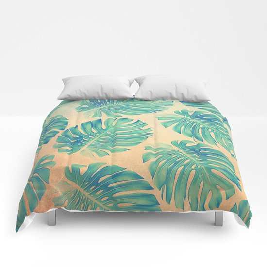 Tropical abstract(2) Comforters
