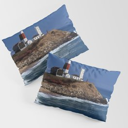 Crispy Morning at Montauk Point Lighthouse Long Island New York Pillow Sham