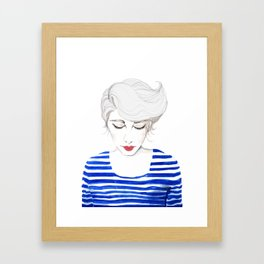 Wow, Stripes! Framed Art Print