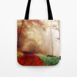 Tip Toe Through The Forest Tote Bag