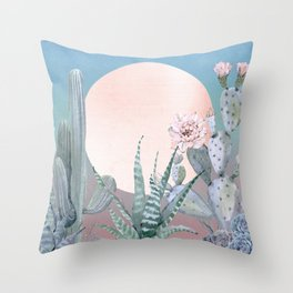 Desert Twilight by Nature Magick Throw Pillow