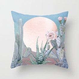 Desert Twilight by Nature Magick Throw Pillow
