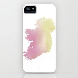 Ireland Watercolour iPhone Case