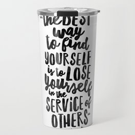 FIND YOURSELF - Ghandi Travel Mug