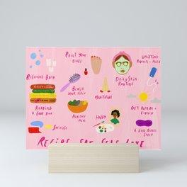 Recipe for Self Love Mini Art Print