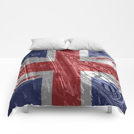 Big Ben - UK Flag Comforters