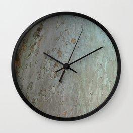 tree bark I. Wall Clock