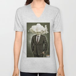 Mr. Rain Cloud | Atom Bomb Poster | It Was All Business Unisex V-Neck