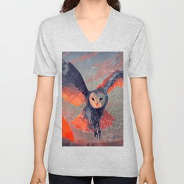 Owl Hunt Unisex V-Neck