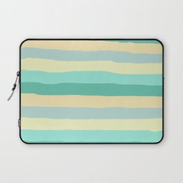 lumpy or bumpy lines abstract and summer colorful - QAB271 Laptop Sleeve
