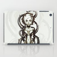carnage iPad Cases featuring The Flower of Carnage by Giulio Rossi