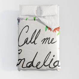Call Me Cordelia- Red Flowers Comforters