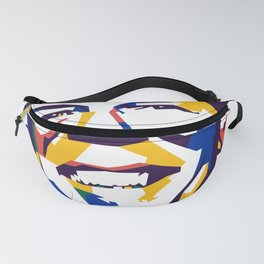 James Abstract Fanny Pack