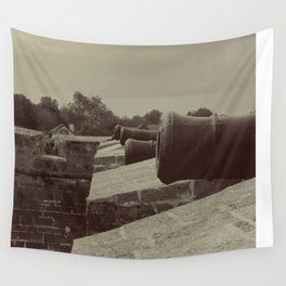 Defend The Fort! Wall Tapestry