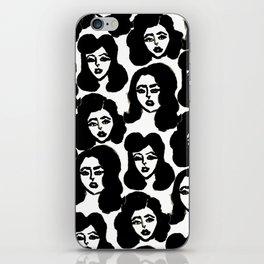 Retro Girls iPhone Skin