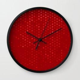 leo zodiac sign pattern dr Wall Clock