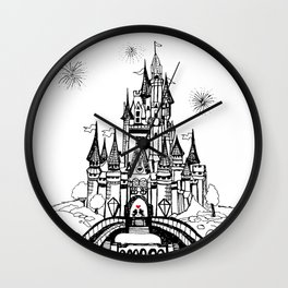 Mouse in Love Wall Clock