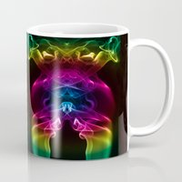 alien Mugs featuring Alien by Steve Purnell