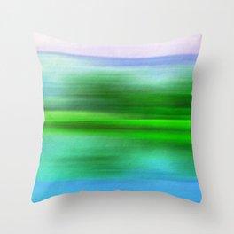 EARTH POEM Throw Pillow
