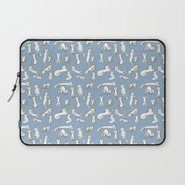 Kitten Love - Blue Laptop Sleeve