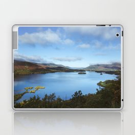 View over Derwent Water to Keswick. Lake District, UK. Laptop & iPad Skin