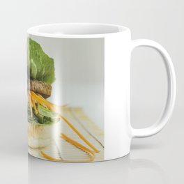 Green Burger Coffee Mug