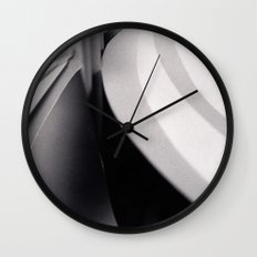 Paper Sculpture #3 Wall Clock