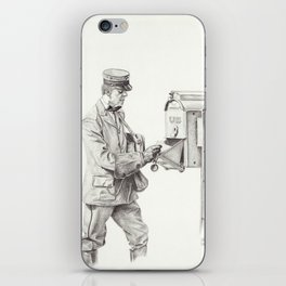 Making the Rounds iPhone Skin