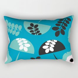 Mushrooms and flowers Rectangular Pillow