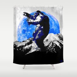 KING KONG: I'M PRETTY SURE IT'S LOVE! Shower Curtain