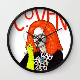 WE PROTECTED THE COVEN Wall Clock