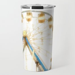Sunlit Ferris Wheel Travel Mug