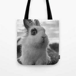 A funny Rabbit Tote Bag