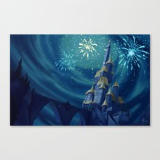 Portrait of a Kingdom: Beast's Castle  Canvas Print