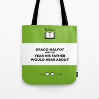 ferret Tote Bags featuring Twitchy Ferret by Pia Ham