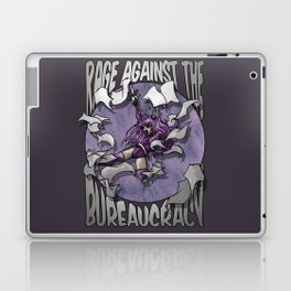Rage against the Bureaucracy Laptop & iPad Skin