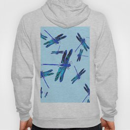 BLUE DRAGONFLY SEASON ART DESIGN  ART Hoody