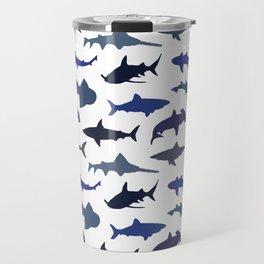 Blue Sharks Travel Mug