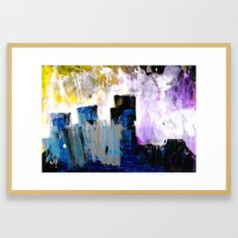 Abstract Section Framed Art Print