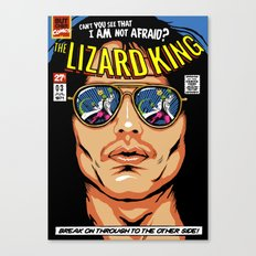 The Lizard King Canvas Print