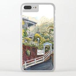 Central Terrace in Kelburn Wellington Clear iPhone Case